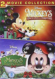 Mickeys Once & Twice Upon A Christmas (DVD)