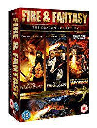 Fire & Fantasy - The Dragon Collection (DVD)