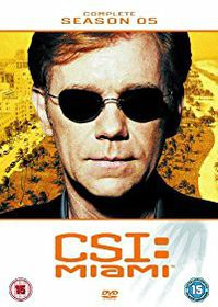 CSI Miami Complete Season 5 (DVD)