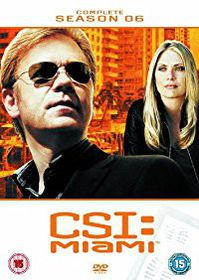 CSI Miami Complete Season 6 (DVD)