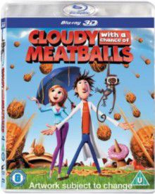 Cloudy With A Chance Of Meatballs 3d (bd)
