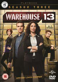 Warehouse 13: Series 3 (Import DVD)