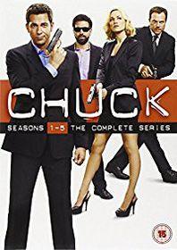 Chuck Season 1-5 (DVD)