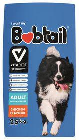 Bobtail - Adult Dry Dog Food - Chicken - 25kg