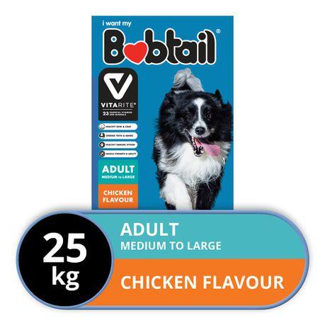 Bobtail - Dry Dog Food - Medium To Large - Chicken Flavor
