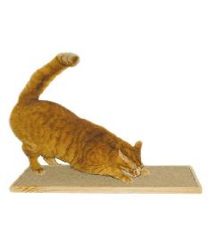 Kunduchi -  Deluxe Honeycomb Wooden Cat Scratcher Floor Unit