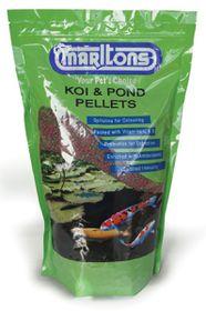 Marltons - Pond Pellets - Large 4mm Bottle - 1kg
