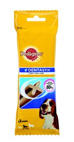 Pedigree - Denta Stix Medium Dog Food Treats - 0.077kg 3 Sticks