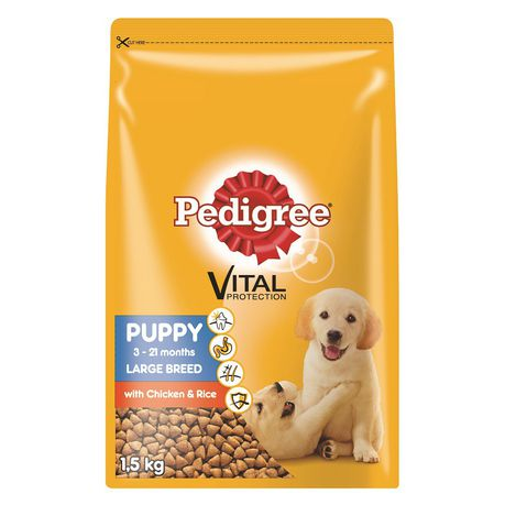 Pedigree Puppy Large To Giant Breed Chicken Rice Dry Dog Food