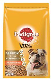 Pedigree - Senior Healthy Maturity Chicken & Rice Dry Dog Food - 1.75kg