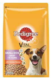 Pedigree - Small Breed - Tasty Chicken & Vegetable & Rice Dry Dog Food - 1.75kg