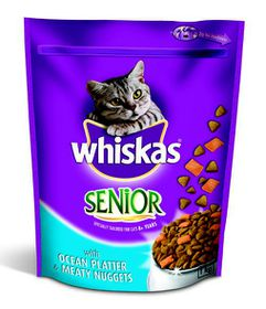 Whiskas - Speciality Senior Ocean Platter Dry Cat Food - 1kg