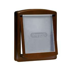 Staywell - Original 2 Way Pet Door 700 Series Flap - Medium (35.2cm x 29cm) - Brown