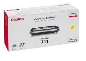 Canon 711 Yellow Laser Toner Cartridge