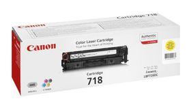 Canon 718 Yellow Laser Toner Cartridge