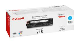 Canon 718 Cyan Laser Toner Cartridge