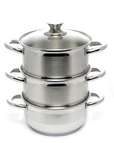 Legend - Euro Chef 3 Tier Steamer - 18cm
