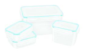 Snappy - Rectangular Promotional Food Storage Set - 4 Piece