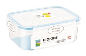Snappy - Rectangular Food Storage Container with Dividers - 900ml