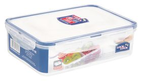 Lock and Lock - Rectangular Food Storage Container with Dividers - 1.6 Litre