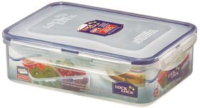 Lock and Lock - 1.6 Litre Rectangular Food Storage Container With Dividers