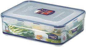Lock and Lock - 3.9 Litre Rectangular Food Storage Container With Crisper - 29.5cm x 23cm x 8.4cm