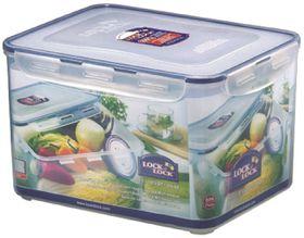Lock and Lock - 9 Litre Rectangular Food Storage Container With Crisper - 29.5cm x 23cm x 18.5cm