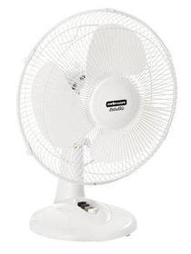 Mellerware - Aquillo 30 Cm Desk Fan - Plastic Oscillating - 35-40 Watt