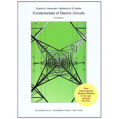 Fundamentals Of Electric Circuits 5th Edition | Buy Online in South ...