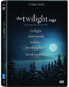 The Twilight Saga (5 Disc DVD Box Set)
