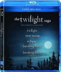 The Twilight Saga (5 Disc Blu-ray Box Set)