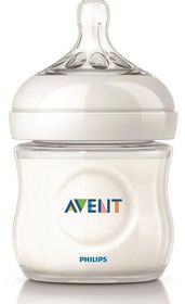 Avent - Natural Feeding Newborn Bottle - 125ml - Single Pack