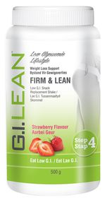 G.I. Lean Firm & Lean, Low-GI, Snack Replacement Shake - Strawberry