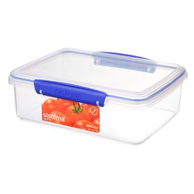Sistema - Klip It - 2 Litre Rectangular Food Storage Container