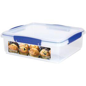 Sistema - Klip It - 3.5 Litre Bakery Box Storage Container