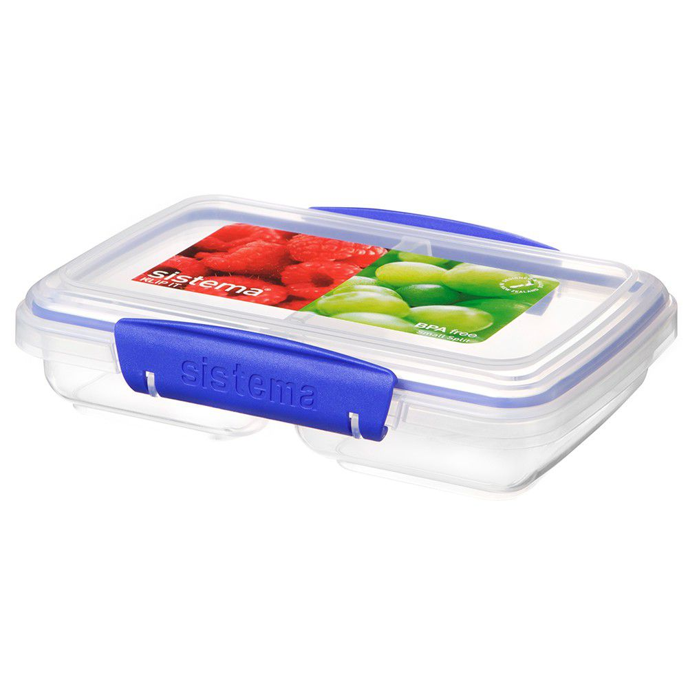 Sistema Klip It 350ml Split Rectangular Food Storage Container