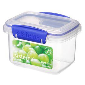Sistema - Klip It - 400ml Rectangular Food Storage Container