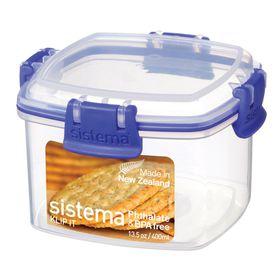 Sistema - Klip It - 400ml Cracker Storage Container