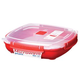 Sistema - To Go 1.3 Litre Microwave Plate - Large