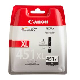 Canon CLI-451XL BK Black Single Ink Cartridge