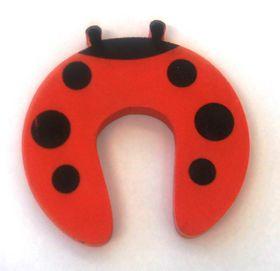 4aKid - Foam Door Stopper - Red Ladybug