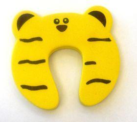 4aKid - Foam Door Stopper - Yellow Tiger