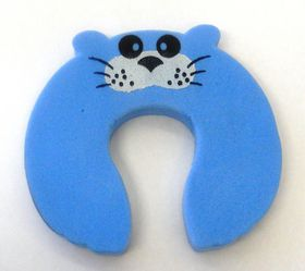 4aKid - Foam Door Stopper - Blue Mouse