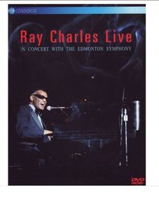 Ray Charles- Live With The Edmonton Symphony (DVD)