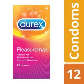 Durex Pleasuremax Condoms 12's