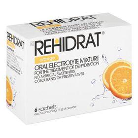 Rehidrat Sachets Orange 6