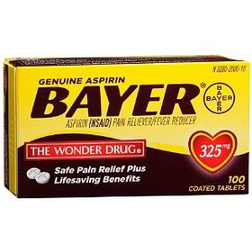 Bayer Aspirin 300mg Tablets 30