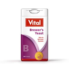 Vital Brewers Yeast Tablets 200