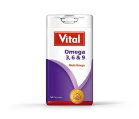 Vital Omega 3,6,9 Capsules 30 14867