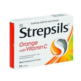 Strepsils 24 Orange C